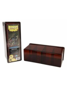 Dragon Shield Four Compartment Box - Brown