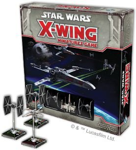 Pedido X-wing - Zeca