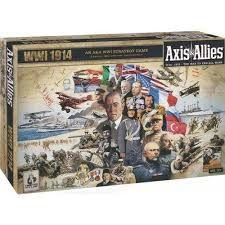 AXIS E ALLIES WWI 1914