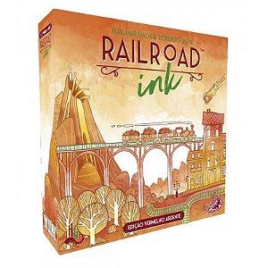 Railroad Ink - Vermelho Ardente