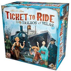 Ticket to Ride - Trilhos e Velas