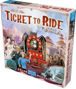 Expansão Ticket to Ride - Asia