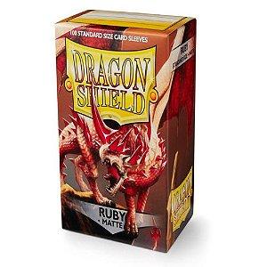 Dragon Shield - Ruby Matte