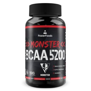 Monster Bcaa 5200 – 100 Tabletes