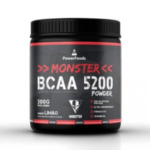 Monster Bcaa 5200 Powder – 300g