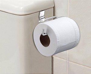 Suporte porta papel higiênico pra caixa descarga acoplada