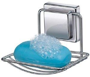 Porta Sabonete Suporte Saboneteira Parede Banheiro Lavabo