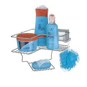 Suporte Porta Shampoo Sabonete Cantoneira Ventosa Vácuo
