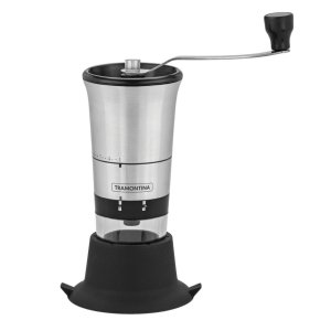 Moedor de Café Inox Tramontina Com Regulagem Moagem