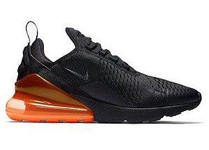 Nike Air Max 270 - Preto e Laranja