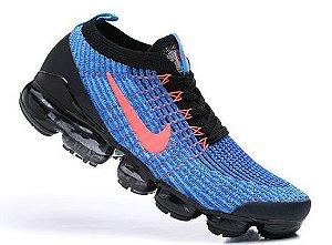 Tênis Nike Air VaporMax 3 - Azul e Vermelho