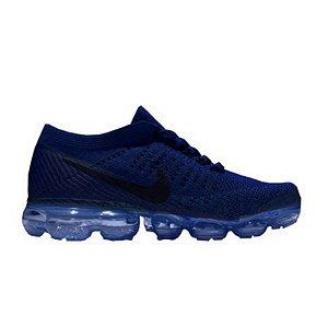 Tênis Nike Air Max VaporMax Flyknit - Azul Escuro
