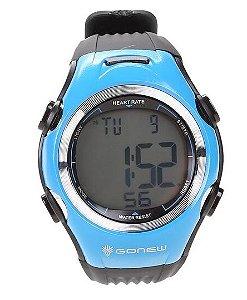 Monitor Cardíaco Gonew Speed - Preto e Azul