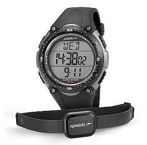 Monitor Cardíaco Speedo Jest 80565G0EPNP - Chumbo e Cinza