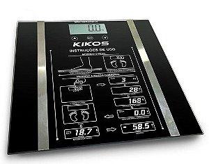 Balança Kikos Ison Bioimpedância - Preto
