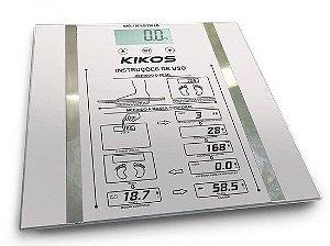Balança Kikos Ison Bioimpedância - Cinza