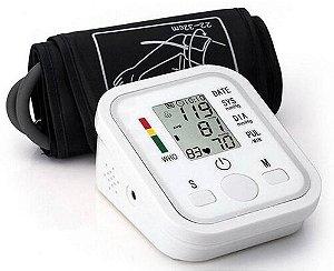 Medidor Monitor Automático De Pressão Arterial - Branco