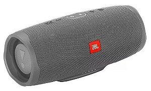 Caixa De Som JBL Charge 4 Speaker Bluetooth - Cinza Claro