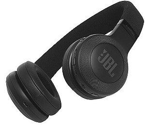 Fone de Ouvido JBL E45BT On-Ear com Bluetooth - Preto
