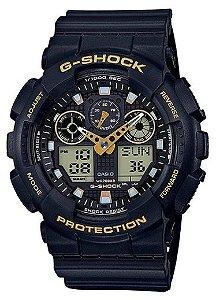 Relógio Masculino Casio G-shock Ga-100gbx-1a9dr - Preto