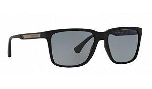 Óculos Empório Armani - 0EA4047 Modern - Black Rubber 506381/56