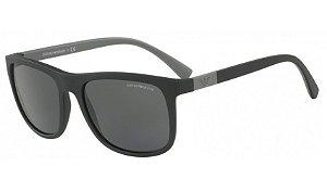 Óculos Empório Armani - 0EA4079 Essential Leasure - Matte Black 504287/57