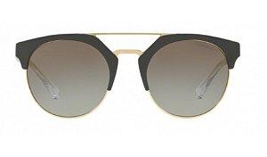 Óculos Empório Armani - 0EA4092 - Militay Green/Pale Gold 55788E/53