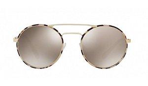 Óculos Prada - 0PR 51SS - Pale Gold/Tortoise UAO1C0/54