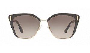Óculos Prada - 0PR 56TS - Brown/Pale Gold DHO3D0/57