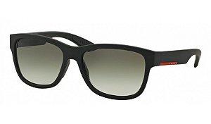 Óculos Prada - 0PS 03QS Linea Rossa - Black Rubber DG00A7/57