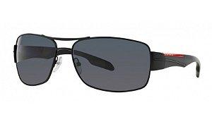 Óculos Prada Linea Rossa - 0PS 53NS - Demi-Shiny Black EDIÇÃO LIMITADA 1BO5Z1/65