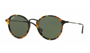 Óculos Ray-Ban - 0RB2447 Round/Classic - Spotted Black Havana 1157/49