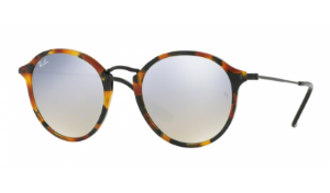 Óculos Ray-Ban - 0RB2447 Round/Classic - Spotted Black Havana 11579U/49