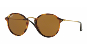 Óculos Ray-Ban - 0RB2447 Round/Classic - Spotted Brown Havana 1160/49