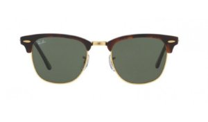 Óculos Ray-Ban - 0RB3016L ClubMaster - Mock Tortoise/Arista W0366/51