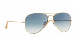 Óculos Ray-Ban - 0RB3025L Aviator Large Metal - Arista 001/3F/55