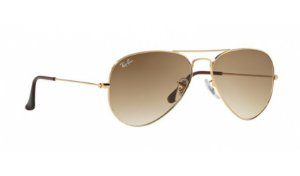 Óculos Ray-Ban - 0RB3025L Aviator Large Metal - Arista 001/51/55
