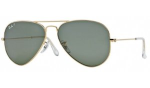 Óculos Ray-Ban - 0RB3025L Aviator Large Metal - Arista 001/58/58