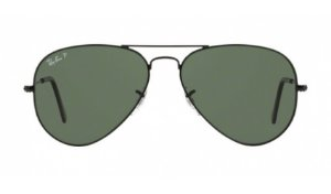 Óculos Ray-Ban - 0RB3025L Aviator Large Metal - Black 002/58/58