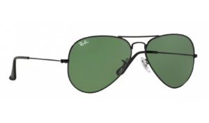 Óculos Ray-Ban - 0RB3025L Aviator Large Metal - Black L2823/58