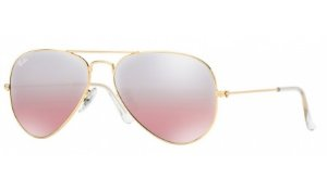 Óculos Ray-Ban - 0RB3025L Aviator Large Metal - Polished Gold 001/3E/55