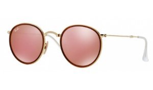 Óculos Ray-Ban - 0RB3517 Round - Gold 001/Z2/51