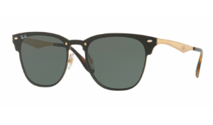 Óculos Ray-Ban - 0RB3576N Blaze Clubmaster - Brusched Gold 043/71/47