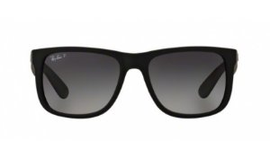Óculos Ray-Ban - 0RB4165L Justin - Black Rubber 622/T3/55