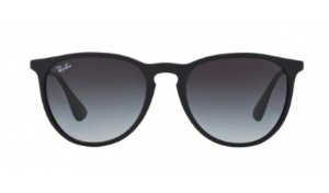Óculos Ray-Ban - 0RB4171L Erika - Rubber Black 622/8G/54