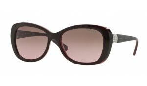 Óculos Vogue - 0VO2943SB Timeless - Top Brown/Opal Pink 194114/55