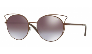 Óculos Vogue - 0VO4048S Casual Chic - Matte Light Brown 5074B7/52