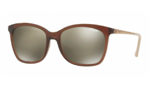 Óculos Vogue - 0VO5044SL Casual Chic - Glossy Translucent Brown 25916G/55