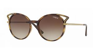 Óculos Vogue - 0VO5136S Casual Chic - Dark Havana W65613/52