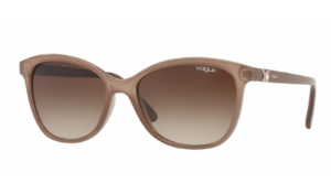 Óculos Vogue - 0VO5185BL Casual Chic - Glossy Translucent Brown 254813/56